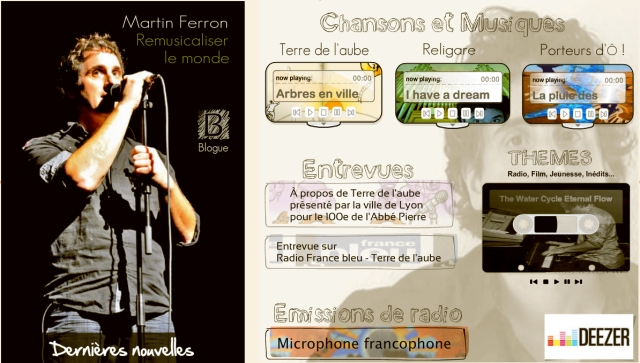 Martin Ferron Musiques et créations sonores